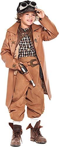 KOSTUumlM Fasching Karneval TIME Traveller MDCHEN fuumlr KARNAVALKOSTUumlME Fancy Dress Halloween Cosplay Veneziano Party 28071 Size ()