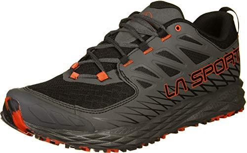 La Sportiva Lycan, Scarpe da Trail Running Uomo, Multicolore (Nero/Mandarino 000), 43.5 EU