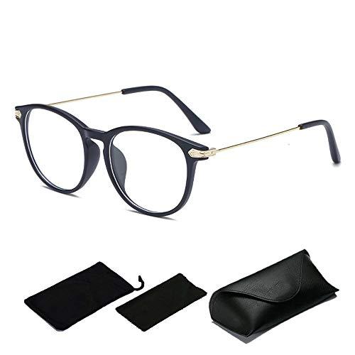 Inmorven Computer Brillen Lesebrillen Anti blaulicht-Blendschutz Federleichte Schutzbrille Lese Bildschirmbrille&Gamer Gamingbrille Verringerung der Augenbelastung Flexibel,UV400,Unisex(Mit Box)