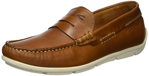 camel active Herren Cruise 13 Mokassin, Braun (Scotch 01), 44 EU