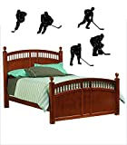 Yilooom Hockey Vinyl Wall Lettering Words Sticker Words Decals Christmas Holiday Decor 32 Inch In Width