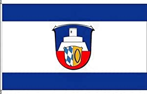 Königsbanner Hissflagge Otzberg - 80 x 120cm - Flagge und Fahne