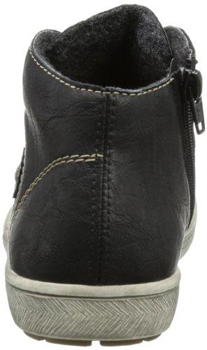 Rieker M3030 Damen Stiefel Schwarz (schwarz/schwarz 00)