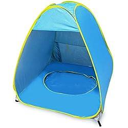 Modaily Tente de Plage extérieure pour bébé Tente de Protection Anti-UV