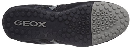 Geox Uomo Snake K Herren Low-Top Blau (Navyc4002)