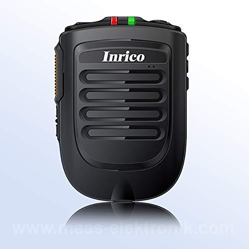 INRICO B-01 Bluetooth PTT-Mikrofon Bluetooth Handmikrofon für Smartphones und Inrico LTE Handfunkgeräten Ptt Bluetooth