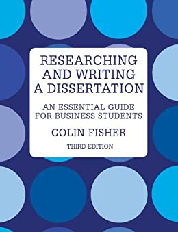 Research and writing a dissertation for business students