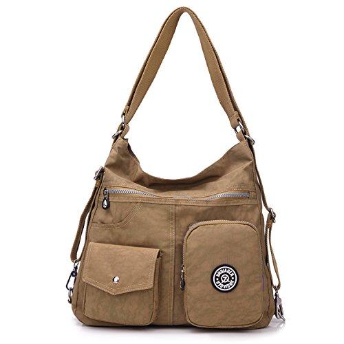 Imagen de outreo mujer bolsos de moda impermeable  bolsas de viaje bolso bandolera sport messenger bag bolsos baratos mano para tablet escolares nylon