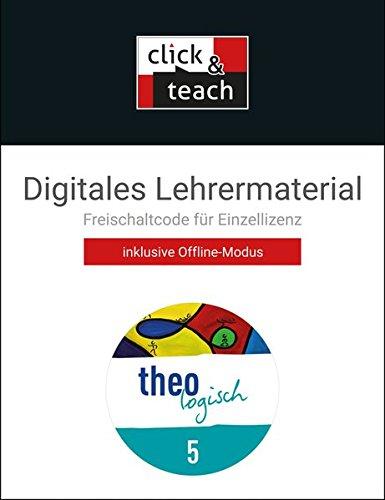 theologisch 5 Bayern click & teach Box: Digitales Lehrermaterial (Karte mit Freischaltcode)