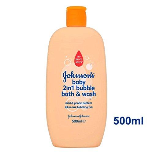 Baby Bubble Bath (Johnson's Baby 2 in 1 Bubble Bath & Wash 500ml)