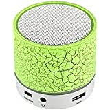 Shiank Wireless LED Mini Bluetooth Speaker With Disco Lights USB Plug & Play Fm Radio MicroSd Slot MP3 Player Portable Car Audio Player Compatible With All Android, IOS And Windows Devices (Color May Vary) - B07FQJ5DZH