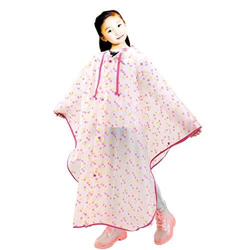 SWIHEL Children Raincoat, Kids Rain Poncho, Reusable And Waterproof Raincoat, Environmental Tasteless Raincoat.
