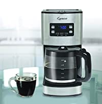 Capresso 434.05 Coffee Maker, Stainless Steel