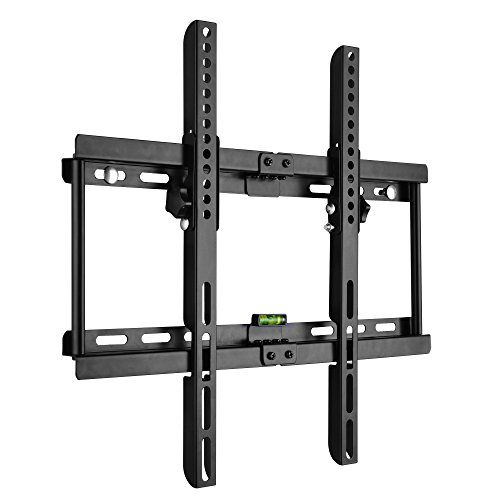 BPS Ultra Slim Universal TV Wall Bracket Tilt Fits for 23-55inch Samsung Sony LG Panasonic Toshiba Hitachi ect. TFT Wall Mount Plasma LCD LED 3D HD Screen VESA Max 400x400, FREE Spirit Level