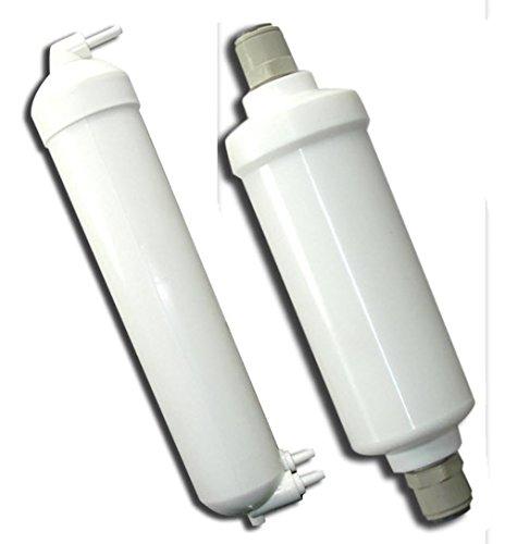 Joneca p-ro-6-rc-kit Ultrakompaktes Umkehrosmose Wasser Behandlung Ersatz Kit mit mehrstufigen Kartusche Schiff und Inline-Filter