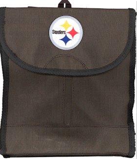 NFL Pittsburgh Steelers Sitz mit Kopfstütze Cover, schwarz, one size
