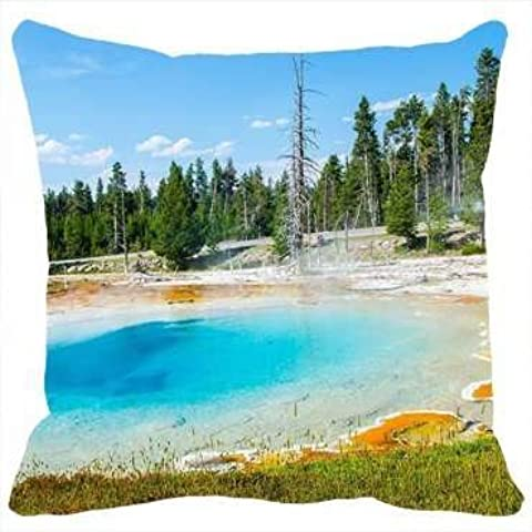 Custom Pillowcases Diy Design Nature Geyser Yellowstone Personalized Home Decor
