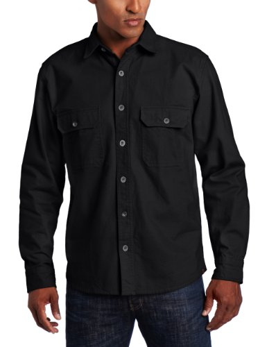 woolrich-mens-expedition-chamois-shirt-black-x-large