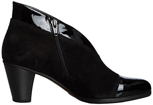 Gabor Enfield, Bottes Classiques femme Noir (black Suede)