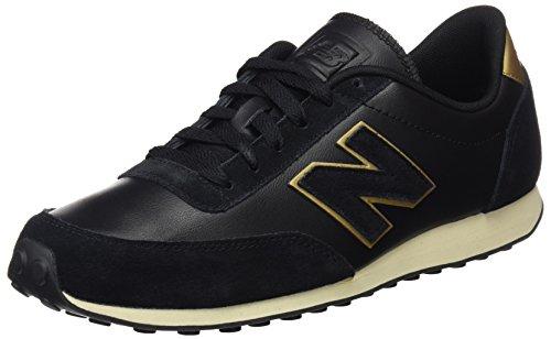 New Balance U410 D, Baskets mode mixte adulte Noir