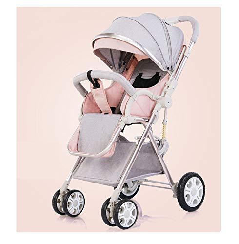Kaysa-TS Baby Stroller Buggy, Reisesystem, Leichtgewicht Falten High Landscape