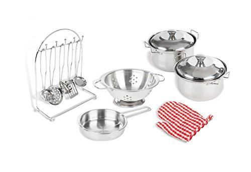 Pinolino 220056 - Küchenzubehör, 13-teiliges Set