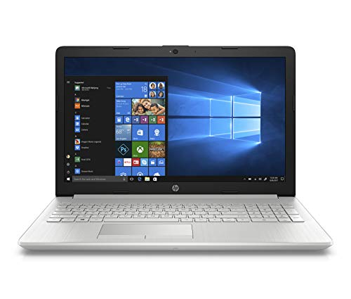 HP 15 15-DB0239AU 15.6-inch Laptop (Ryzen 3 2200U/4GB/1TB HDD + 256GB SSD/Windows 10 Home/MS Office/AMD Radeon Vega 3 Graphics), Natural Silver