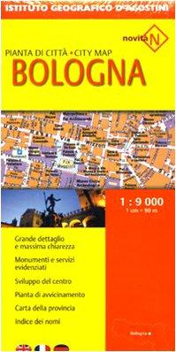 Bologna 1:9.000 (Piante di città d'Italia)