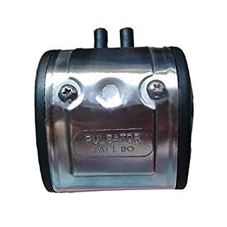 Melkmaschine Fitting - TOOGOO(R) NEW L80 Pneumatische Luft Pulsator fuer Kuh-Melker Melkmaschine Fitting Milchhof Melker