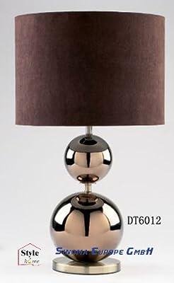 Homestyle Design Tischlampenachttischlampe Tischbeleuchte Dt-6012