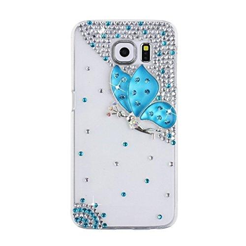 Spritech (TM Luxus 3D Handmade Bling spezielle Design klar Hard Caver Fall für Samsung Galaxy S7, Style-8, Samsung Galaxy S7