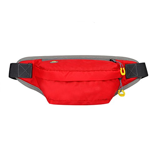 Outdoor Sport Fitness Multifunktions-Taschen Mehrfarbig Red