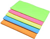 Sinland Household Multi-purpose Microfiber Cleaning Cloths Kitchen Cloth With Strips 12