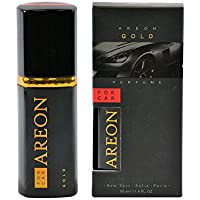 Areon Gold Perfume Car Air Freshener (50 ml)
