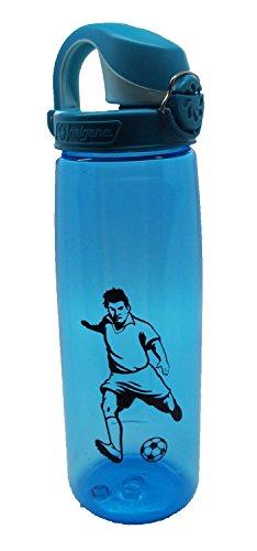 Nalgene 'Everyday OTF' – 0,7 L, blau, Fussball