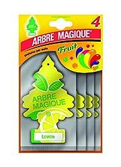 Idea Regalo - Arbre Magique Lemon 4 Pezzi Multipack