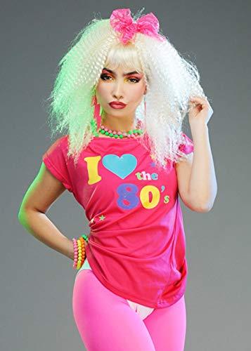 Magic Box Int. Womens Pink ich Liebe die 80er Jahre T-Shirt Large (UK 14-16)