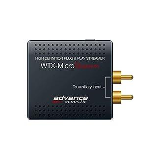 Advance Acoustic WTX MicroStream Mini Streamer/Spotify, Tidal, Qobuz, Tune-in/Wolfson WM8740 / App Steuerung