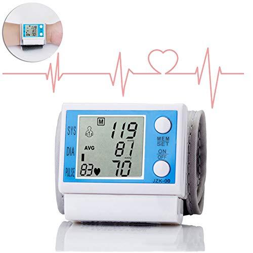 DZWJ Handgelenk-Blutdruckmessgerät,Elektronisches Blutdruckmessgerät Oberarm Digitales Manschetten-Blutdruckmessgerät oder Pulsmessung für den Heimgebrauch
