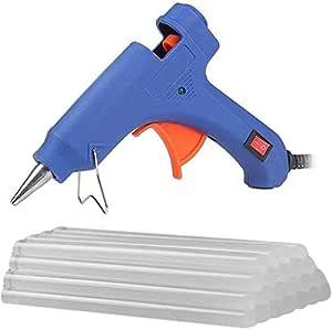 20 WATT Leak Proof Glue Gun with 5 Glue Sticks 8 inch Long Glue Sticks JJ