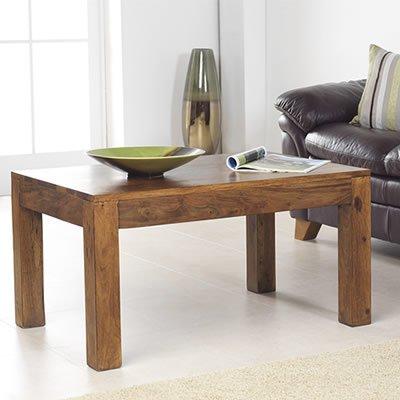 Cuba Sheesham Coffee Table (60x60x45) - Furniture