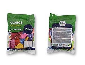 Globest- Globos de fiesta, Multicolor Festival 50746)