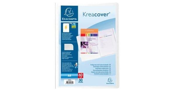 EXACOMPTA Sichtbuch DIN A4 PP 30 Hüllen blau