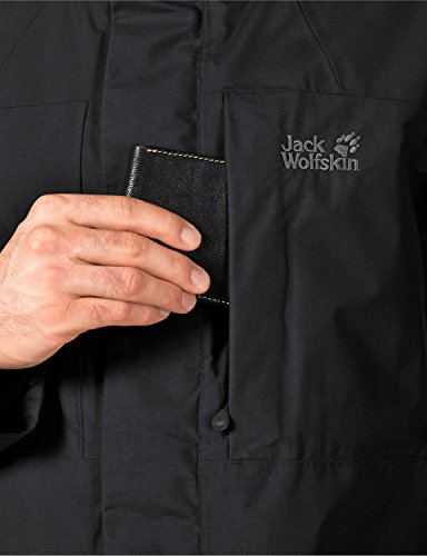 Jack Wolfskin Veste Protection Météo Brooks Range Flex Jkt M Black