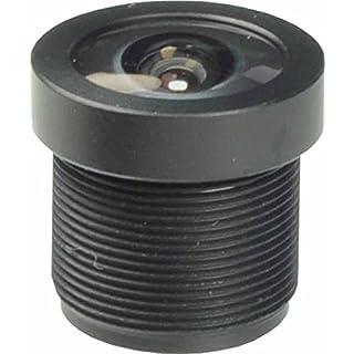 Ansice Weitwinkel-Objektiv für Sicherheitskamera, 8,46 mm (1/3 Zoll), 2,1mm, 150Grad, Infrarot, M12
