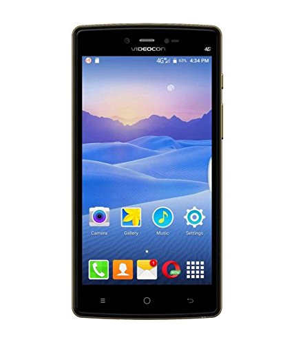Videocon Ultra 30 V50NL 5 Inch Marshmallow 3GB & 32GB 4G Smartphone (Golden Blue)