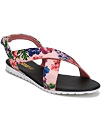 Yepme Women's Pink Synthetic Sandals