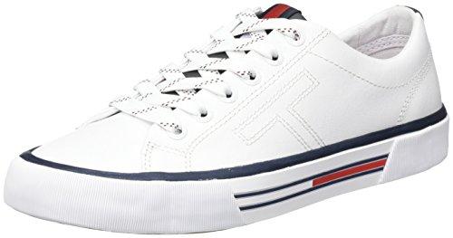 Tommy Jeans Damen SM Wmns Starboard 1a Sneaker Weiß (White)