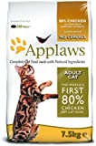 Applaws Cat Dry Adult Chicken, 7.5 Kg