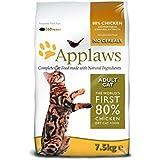 Applaws Katzentrockenfutter mit Hühnchen, 1er Pack (1 x 7.5 kg Packung)